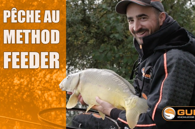 Pêche au method feeder